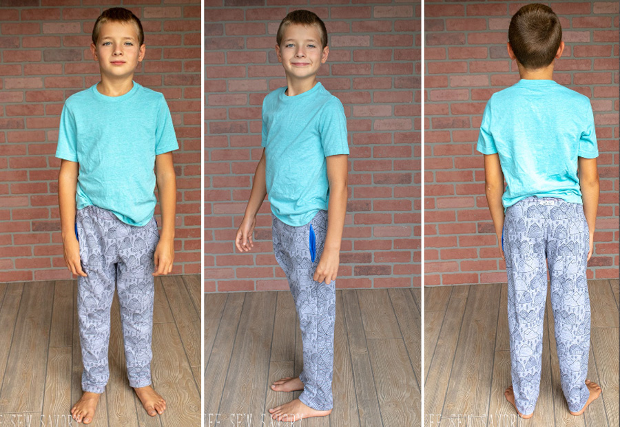 Kid's Joggers Sewing Tutorial