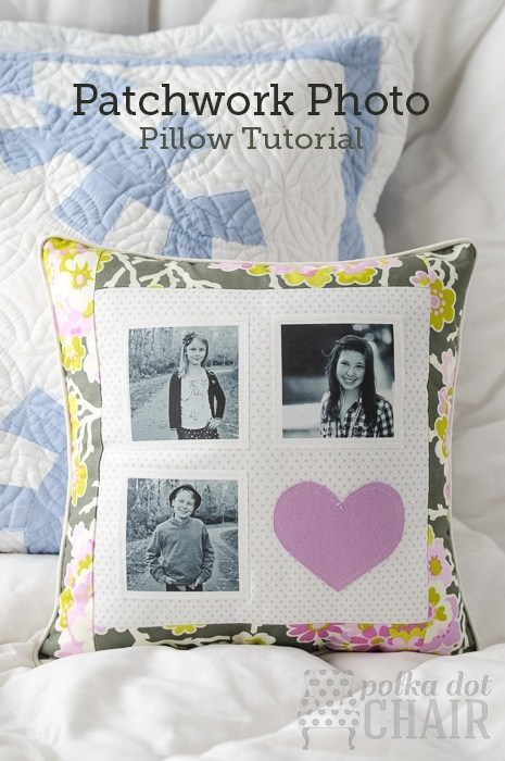 Make a perfect Mother's Day gift with this Photo Pillow!