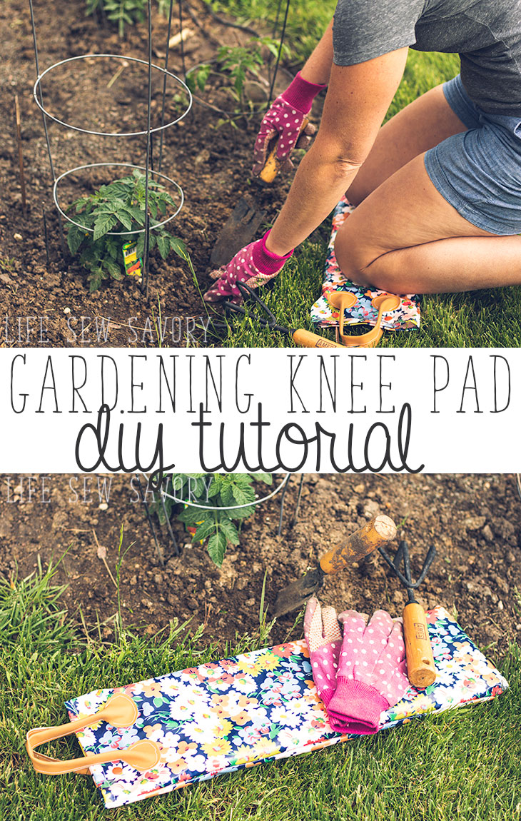 Make a gardening knee pad!
