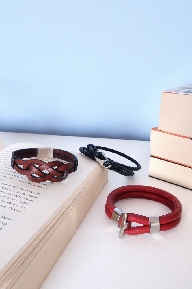 Men's Leather Bracelets tutorial