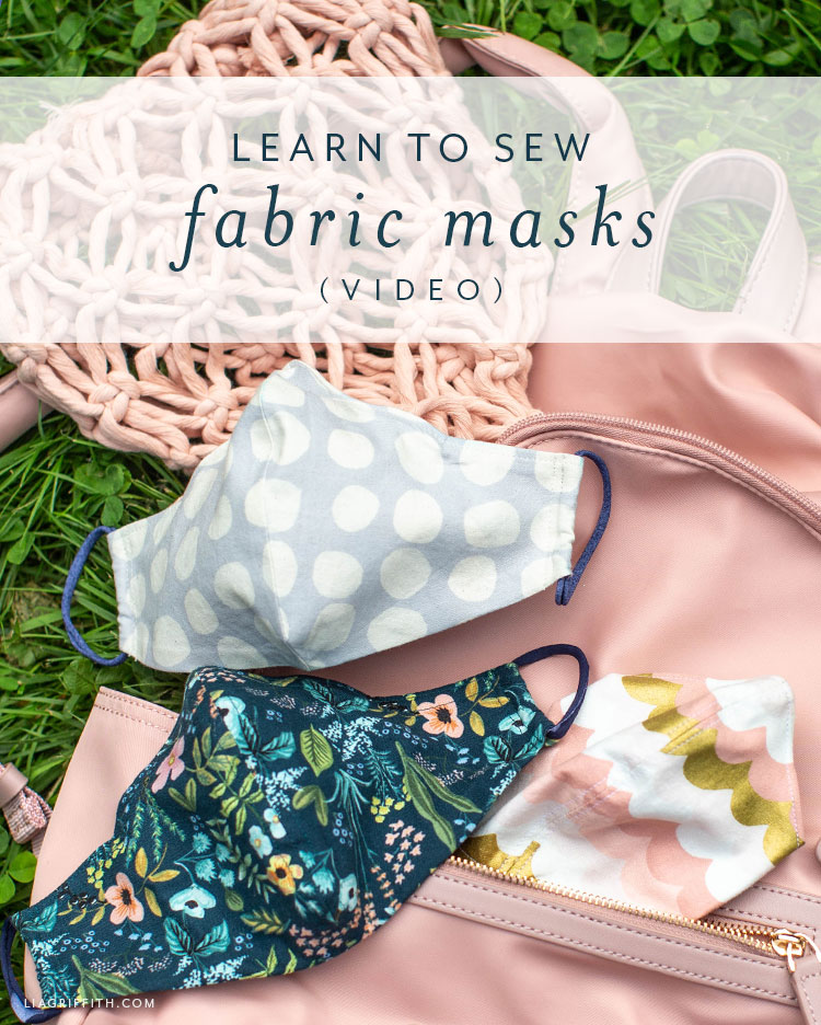 Sew a fitted face mask with this video tutorial