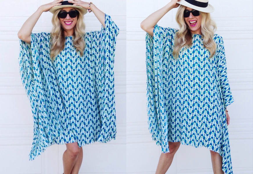 Sew a breezy summer caftan and stay cool