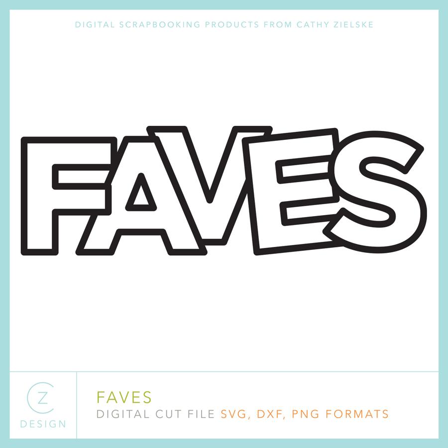 Faves cut file