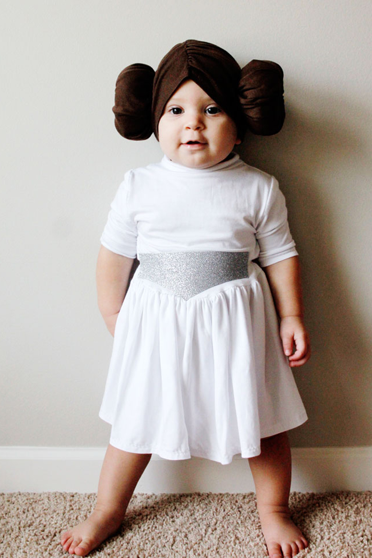 Sweet Princess Leah Baby costume