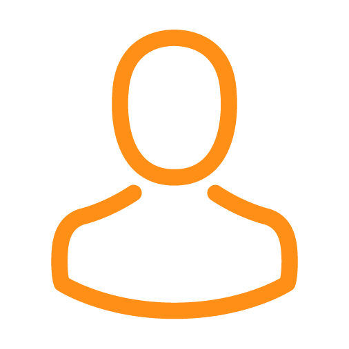 Sunsure Insurance Solutions - Insurance Agent Icon - Orange