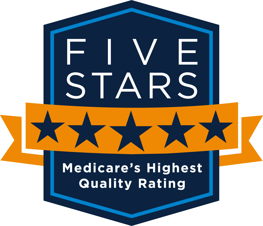 Medicare - Five Stars Shield Logo - Medicare's Highest Rating