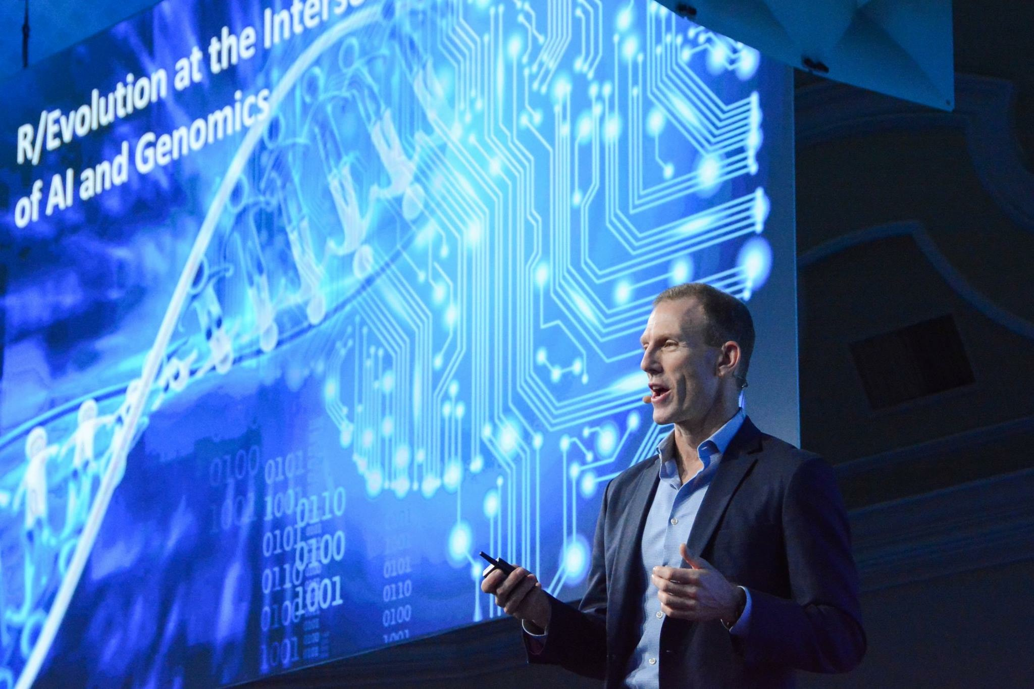 Evangelizing about the intersecting AI and genomics revolutions for Singularity University