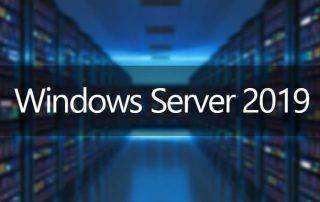 Novidades do Windows Server 2019