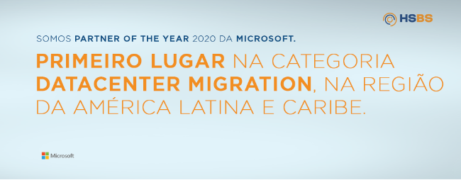 HSBS é Partner of the Year 2020 da Microsoft