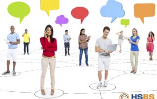 rede social corporativa hsbs
