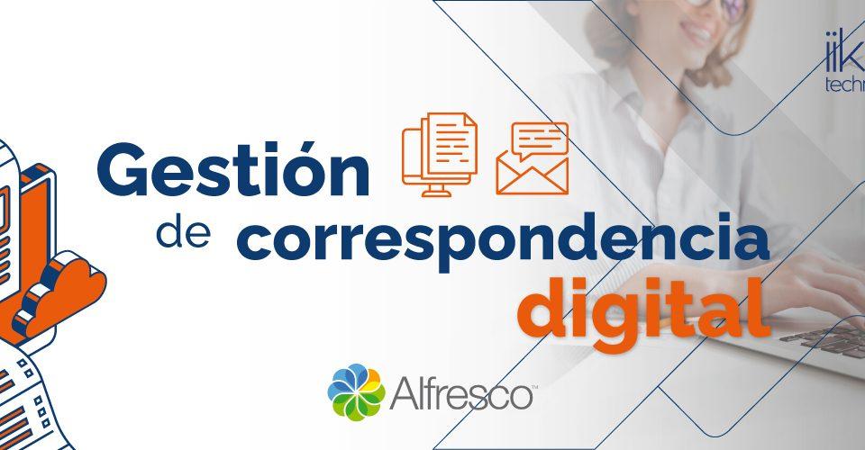 Gestión de correspondencia digital