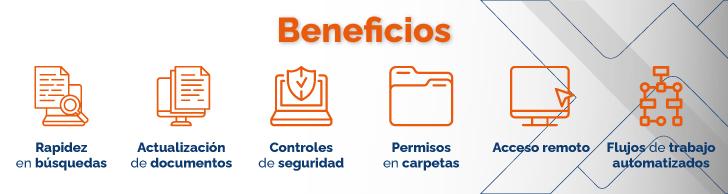Beneficios para tu organización Infografía
