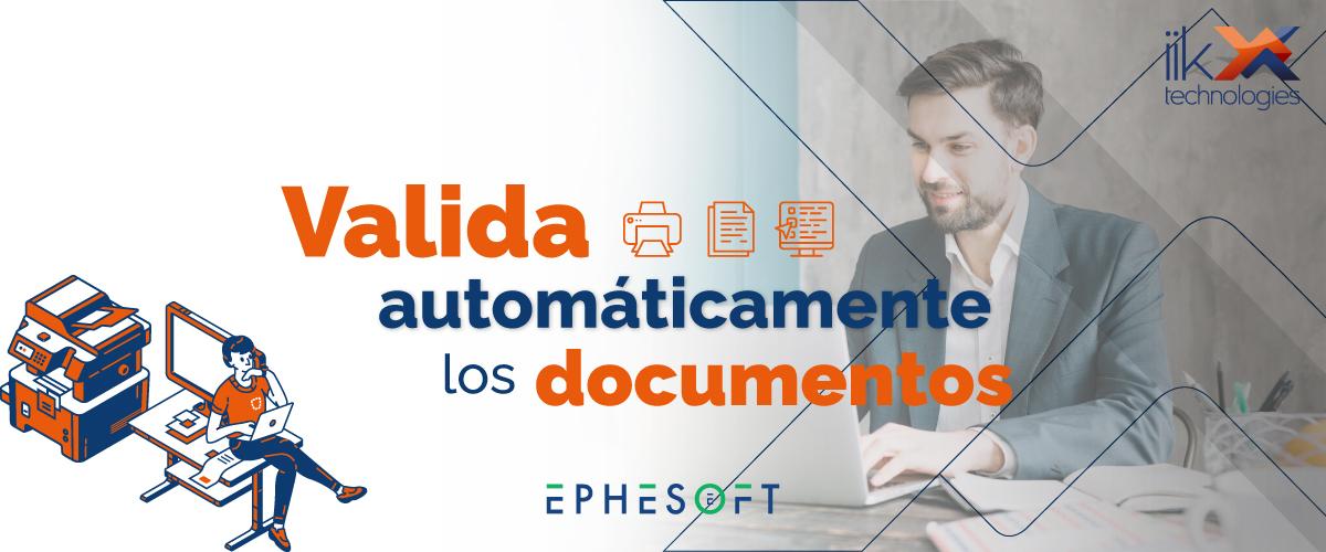 Valida automáticamente los documentos Blog