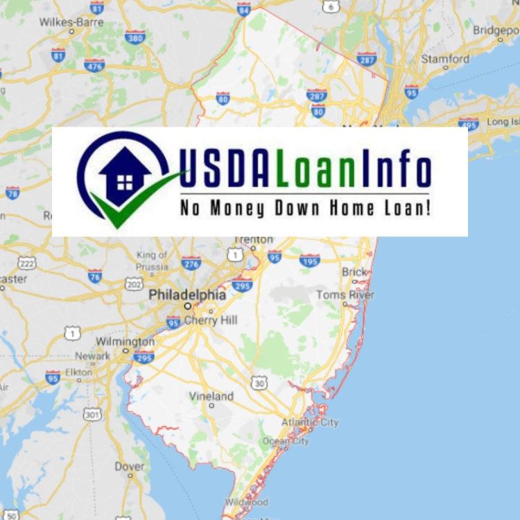 usda home loan zones nj