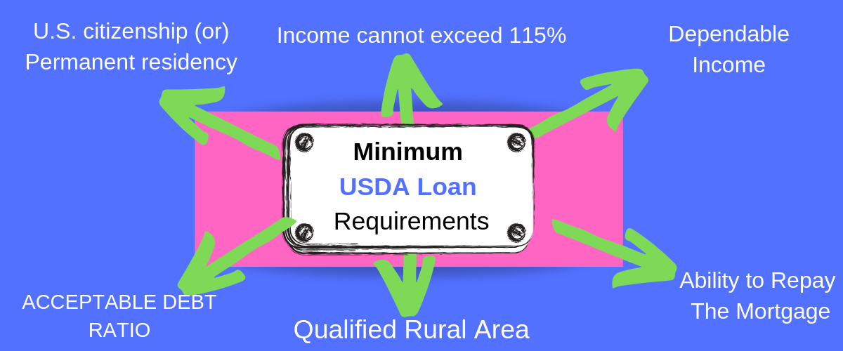 usda loan home condition requirements