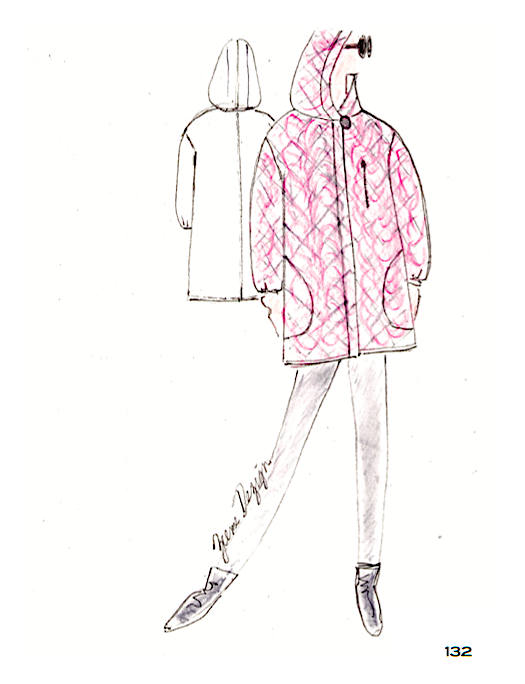 The Quilted Hooded Coat