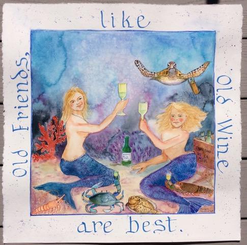 Old Friends- Elizabeth Mumford