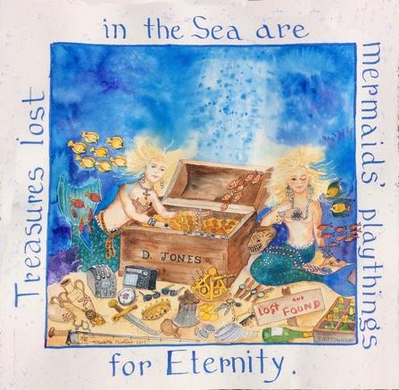 Treasures in the Sea - by Elizabeth Mumford