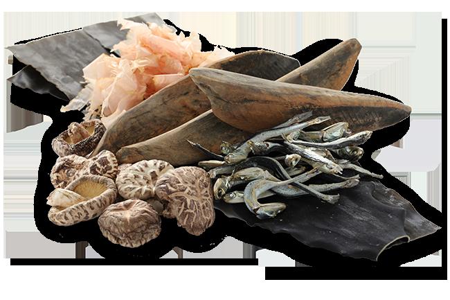 natural umami foods in dashi