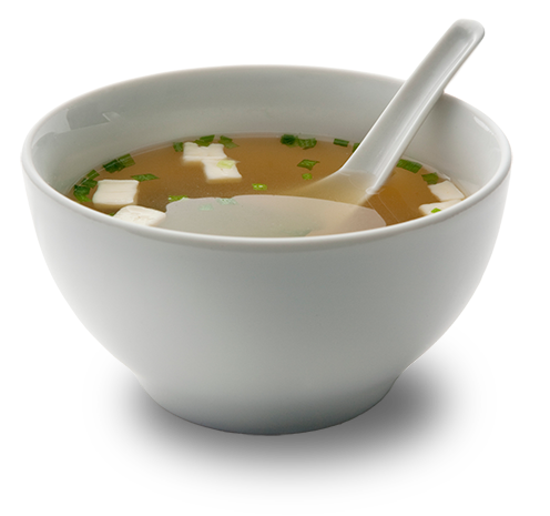 soup rich in umami