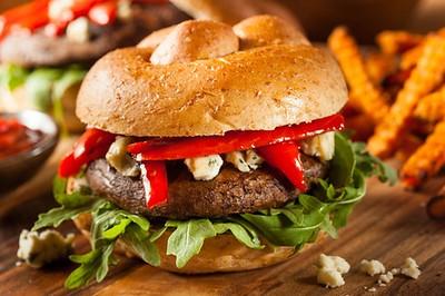 Umami Portobello Mushroom Burger recipe
