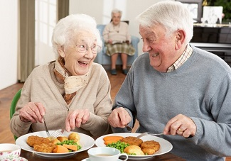elderly couple and umami benefit