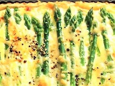 Asparagus Ricotta Quiche