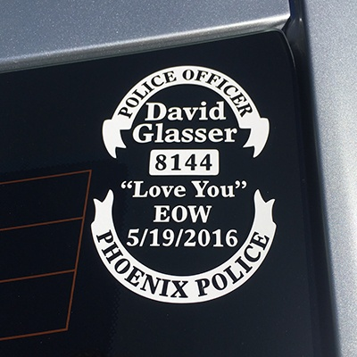 David Glasser Decal