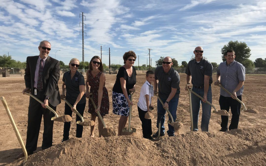 David Glasser Athletic Complex Groundbreaking