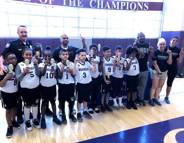 David Glasser Foundation's First Youth Basketball League