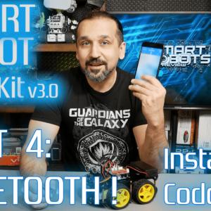 Smart Robot Car – Build your own – Part 4 – Arduino – Elegoo UNO R3 EL-KIT-012 – Smart Robots Review