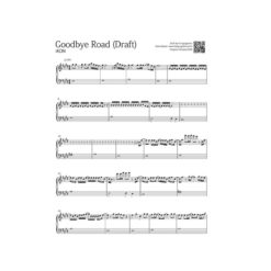 iKON - Goodbye Road [ Sheet Music / Midi / Mp3 ]