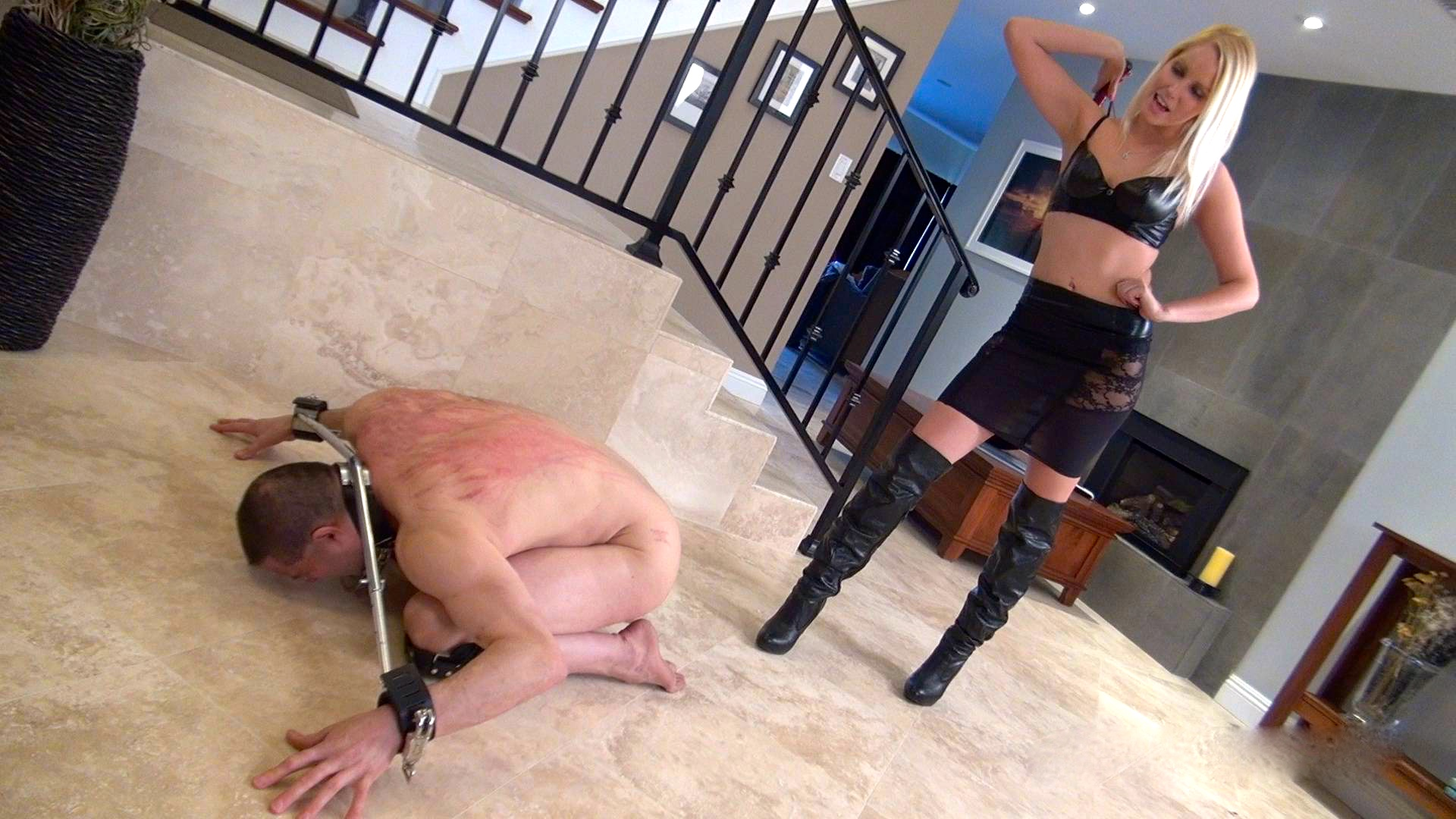 dominación femenina arnés