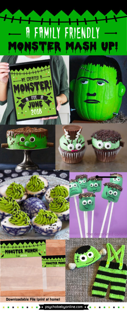 Halloween Monster Food and Party Ideas