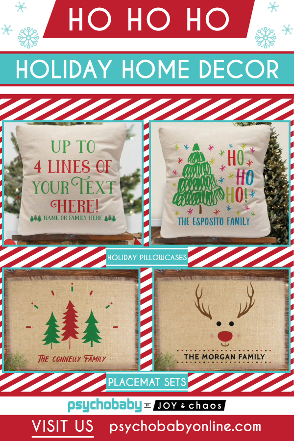 Personalized Holiday-Home-Decor