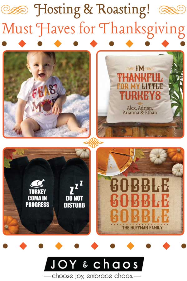 Custom Thanksgiving GIfts