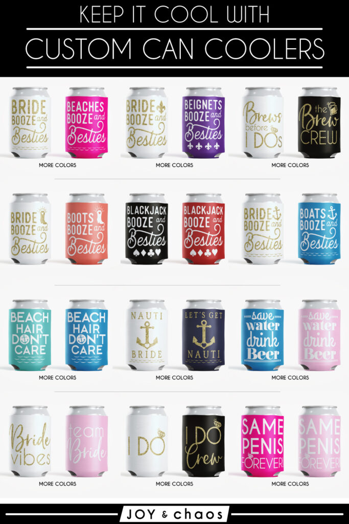 Custom Can Coolers