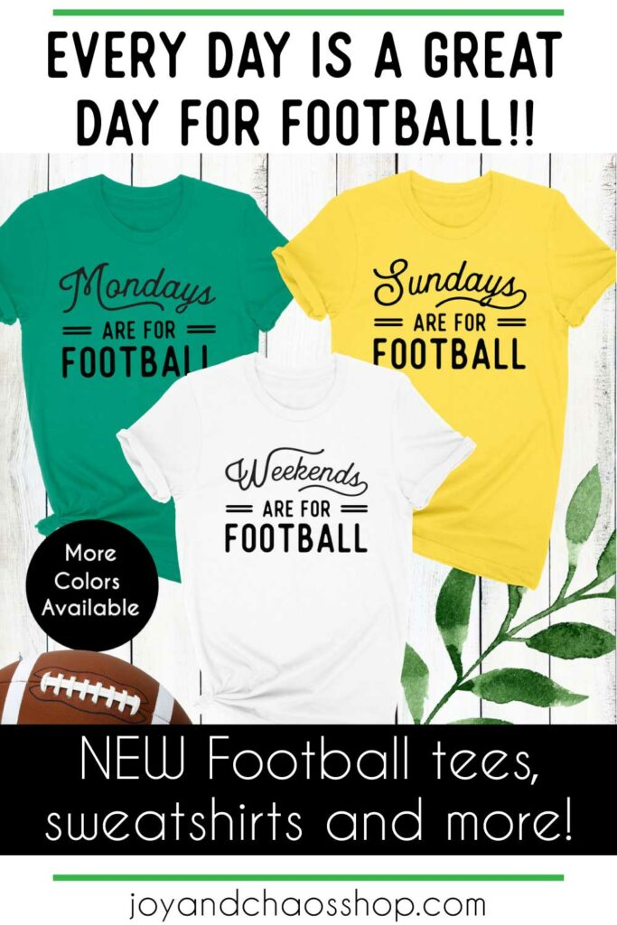 Custom Football Shirts for Women and Football Gift Ideas