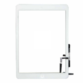 iPad Air Digitizer Assembly (White) (Small Parts)(Premium Quality)