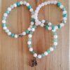 Bracelet pour femme - zen et pur - pierres semi-précieuses - méditation