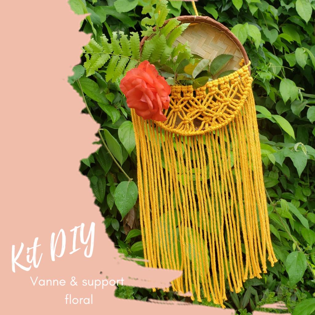 Kit DIY - Vanne et support floral