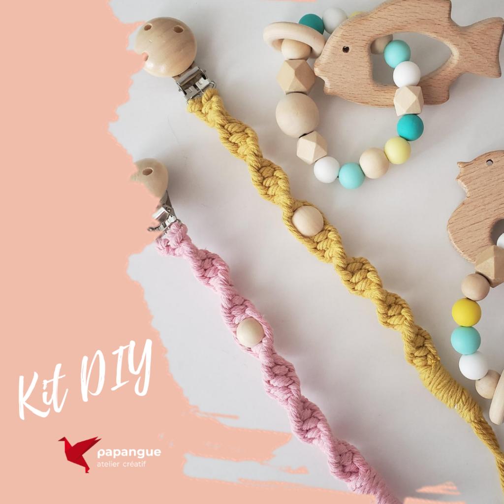 Kit-DIY Attache-suce Papangue atelier creatif