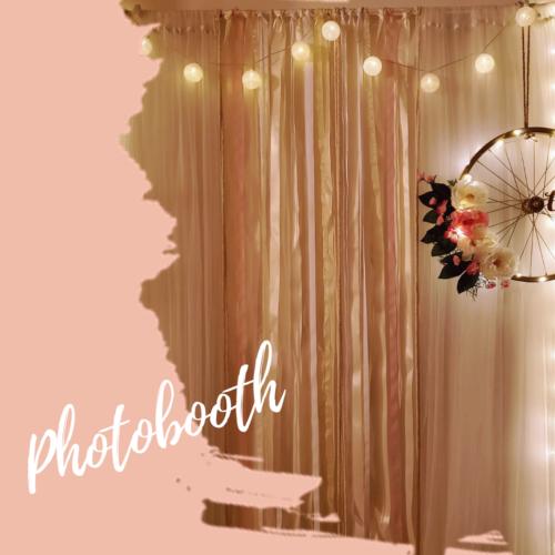 Photobooth et décorations originales