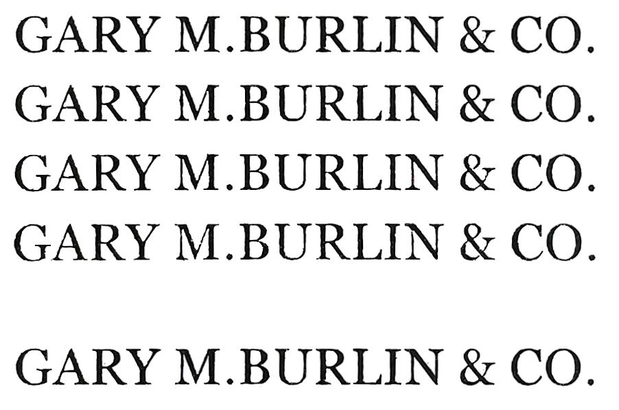 Gary M. Burlin