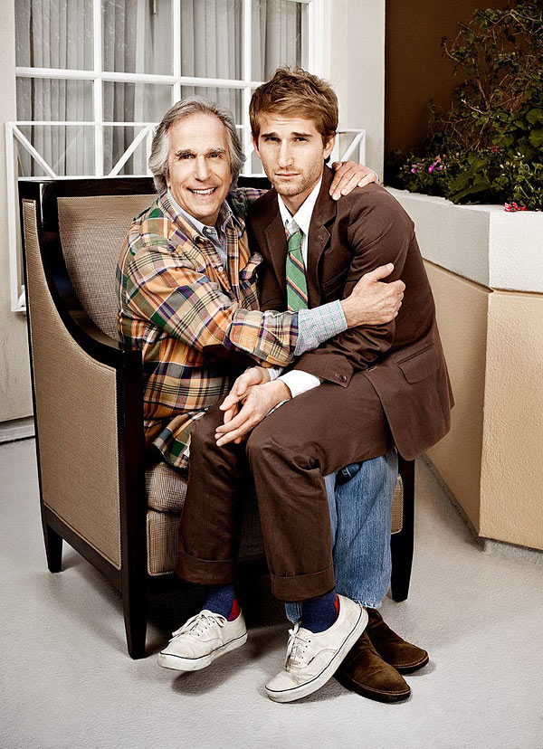 Henry and Max Winkler for People Magazine