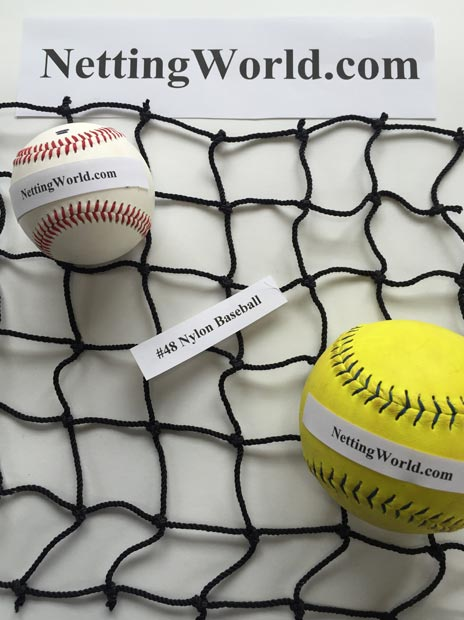 48 Baseball Netting
