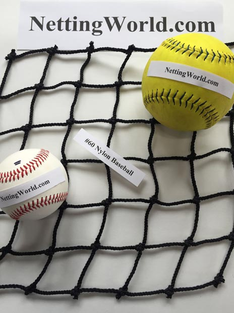 60 Baseball Netting