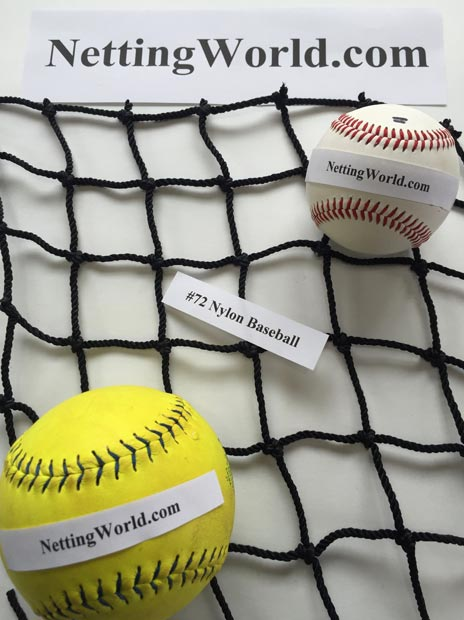 72 Baseball Netting