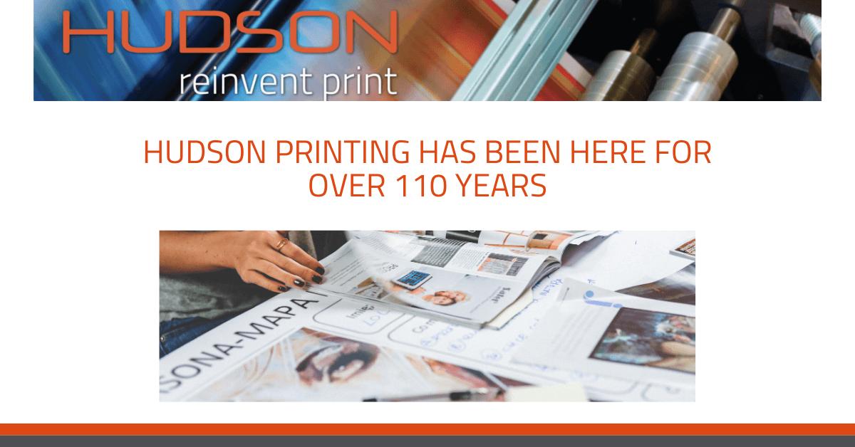 hudson printing dependable company