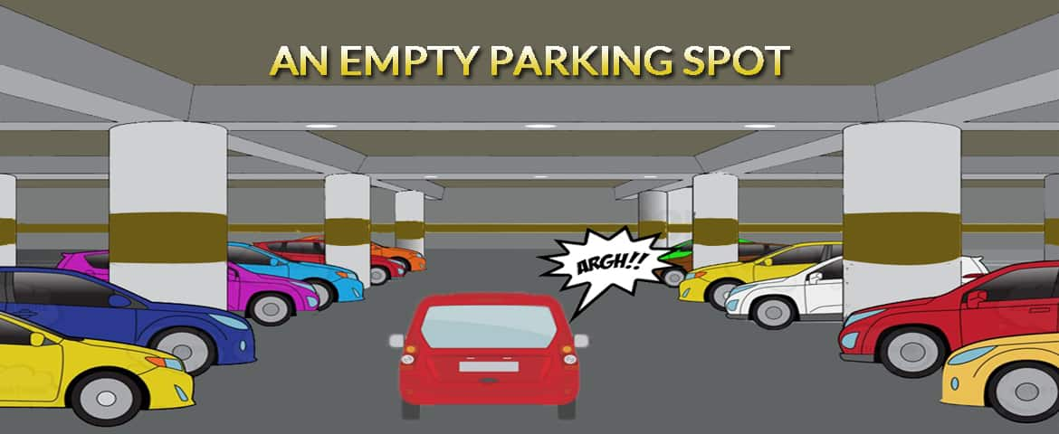 An Empty Parking Spot